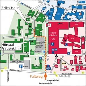 Veranstaltungsorte | Lageplan